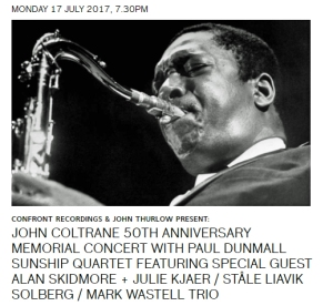 Coltrane 50 tribute