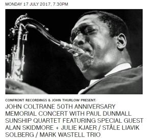 Coltrane 50 tribute