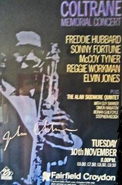 Coltrane poster